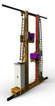Transtockeur automatique / pour palettes / pour système de rangement