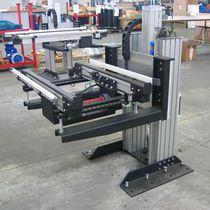 Élévateur à colonnes / hydraulique / pour convoyeur / de manutention