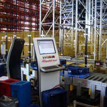 Système de préparation de commandes automatique / pick-to-light