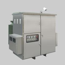 Transformateur de distribution / à faible perte / triphasé / moyenne tension