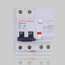 Dispositif différentiel à courant résiduel multipolaire / AC / contre les courts-circuits / de fuite à la terre
