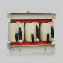 Autotransformateur d'alimentation électrique / enrobé résine / triphasé / basse tension