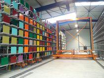 Magasin de stockage automatique vertical / pour produits longs / à transtockeur