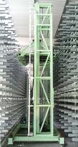Magasin de stockage automatique vertical / pour support plat