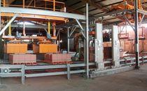 Machine d'emballage automatique / en continu / pour briques / haute cadence
