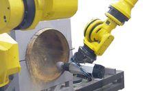 Cellule robotisée de rognage / de tonneaux