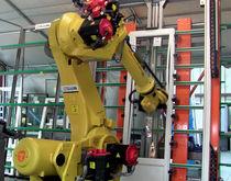 Cellule robotisée de pose / d'assemblage / pour vitrage