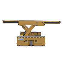 Table élévatrice à ciseaux / hydraulique / sur batterie / mobile
