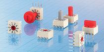 Commutateur rotatif / multipolaire / de codage / miniature