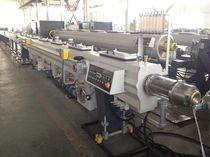 Ligne d'extrusion de tubes / pour PE / pour tubes de drainage / de tuyau d'irrigation