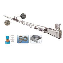 Ligne d'extrusion pour tube en composite plastique-aluminium / de tubes / pour PP-R / multicouche