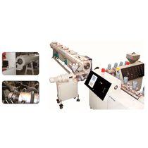 Ligne d'extrusion de tubes / pour HDPE / pour le caoutchouc silicone / multicouche