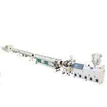 Ligne d'extrusion de tubes / pour PE / multicouche / pour tubes de drainage