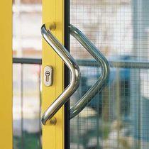 Poignée tubulaire / de porte / en acier inoxydable