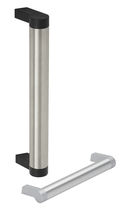 Poignée tubulaire / de porte / en aluminium / en polyamide