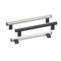 Poignée tubulaire / de porte / en aluminium / en inox
