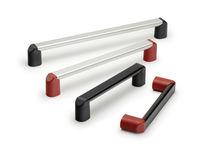 Poignée étrier / de porte / en aluminium / profilée
