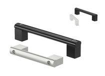 Poignée étrier / de porte / en aluminium / en U
