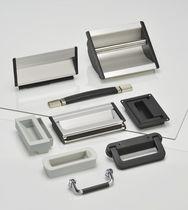 Poignée extractible / alcôve / de tirage / en aluminium