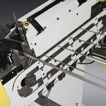 Machine d'ébavurage pour tubes / pour profilés / automatique