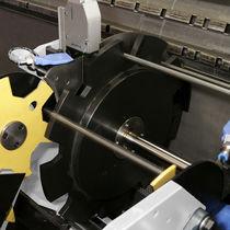Système de mesure de longueur / pour profilés / de tubes / automatique