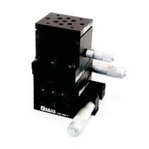 Platine de positionnement XYZ / manuelle / à micromètre