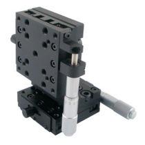Platine de positionnement de translation / manuelle / 2 axes / à micromètre