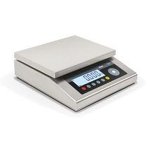 Balance à plate-forme / benchtop / avec afficheur LCD / en acier inoxydable