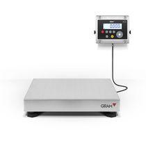 Balance à plate-forme / avec afficheur LCD / en acier inoxydable / industrielle