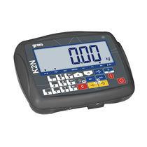 Indicateur de pesage affichage LCD / encastrable / multifonction