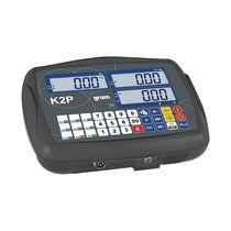 Indicateur de pesage numérique / encastrable / avec batterie / à sortie analogique