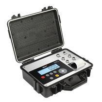 Indicateur de pesage affichage LCD / portable / avec batterie