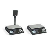 Balance de comptoir / avec afficheur LCD / plateau en acier inoxydable / avec batterie