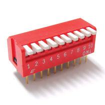 Interrupteur type piano / multipolaire / de porte / DIP