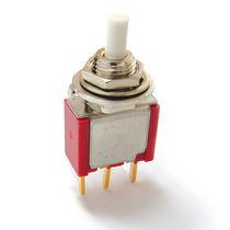Bouton poussoir unipolaire / 2 pôles / on/off / PCB