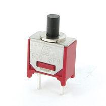 Bouton poussoir unipolaire / monté sur panneau / on/off / électromécanique