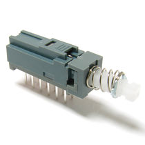 Bouton poussoir unipolaire / électromécanique / miniature / standard