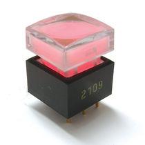 Bouton poussoir à ressort / unipolaire / lumineux (LED) / on/off