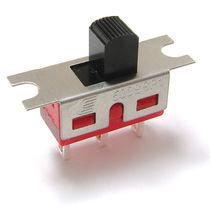 Interrupteur à glissière / unipolaire / bipolaire / monté sur panneau