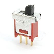 Interrupteur à glissière / unipolaire / monté sur panneau / électromécanique