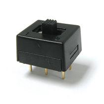 Interrupteur à glissière / unipolaire / bipolaire / électromécanique