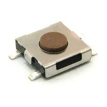 Interrupteur tactile / unipolaire / subminiature / électromécanique