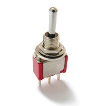 Interrupteur à levier / 4 pôles / électromécanique / miniature