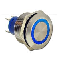 Interrupteur à tête champignon / SPDT / électromécanique / action momentanée