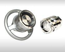 Raccord push-to-lock / droit / hydraulique / en acier inox