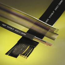 Câble électrique DIN / résistant à l'huile / plat / flexible