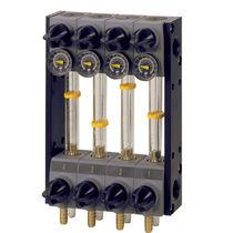 Régulateur de débit volumétrique / hydraulique / pour liquide / pour presse à injecter