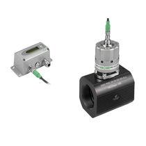 Débitmètre massique / thermique / pour gaz / monté dans tube de mesure