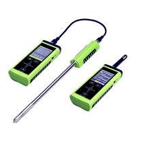Appareil de mesure température / humidité relative / de vitesse / arête de coupe