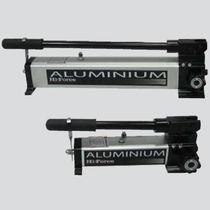 Pompe hydraulique à piston / manuelle / en aluminium